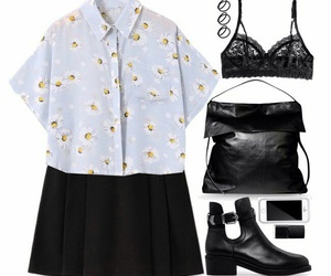 look, outfit, and clothes image