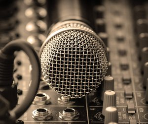 microphone, sing, and singing image