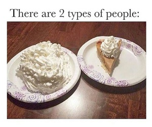 cream, lol, and pie image