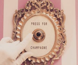 champagne, illusion, and button image