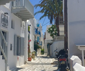Greece, streets, and mykonos image