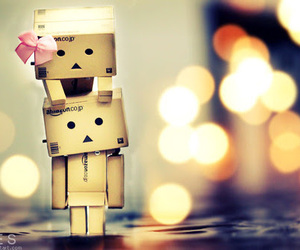 amor, danbo, and drink image
