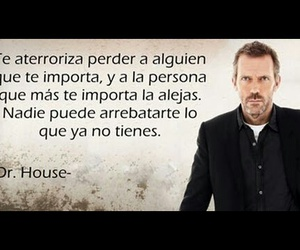 Dr. House, frases, and house image