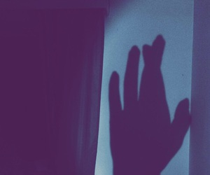 hand, hope, and shadow image