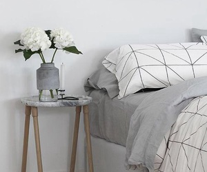 home and bed image