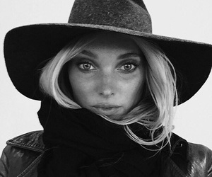 elsa hosk, model, and hat image