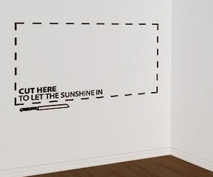 wall, sunshine, and cut image