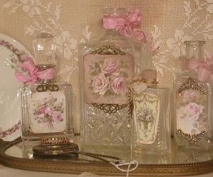 pink, perfume, and vintage image