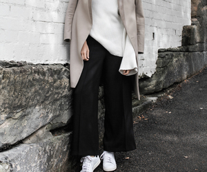 black and white, designer, and fashion image