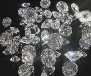 diamond, black, and shine image