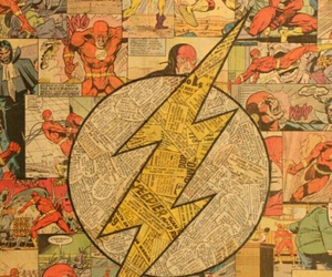 flash, comic, and the flash image