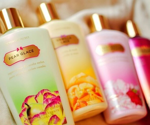 beauty, girly, and body lotion image