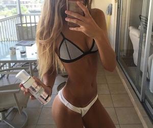 bikini, fit, and inspiration image
