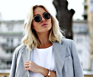 fashion, sunglasses, and outfit image