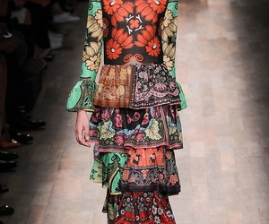 dress, style, and Valentino image