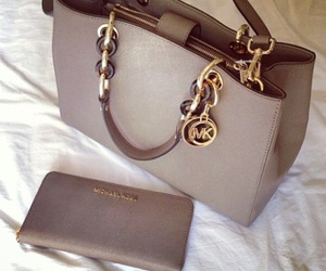 luxury, purse, and mk image
