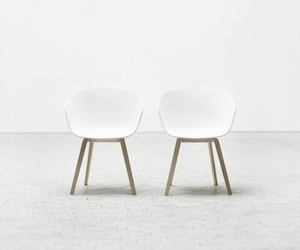 chairs, simple, and modern image