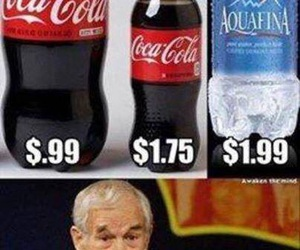 funny, water, and coke image