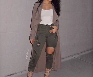 beautiful woman, clothes, and clothing image