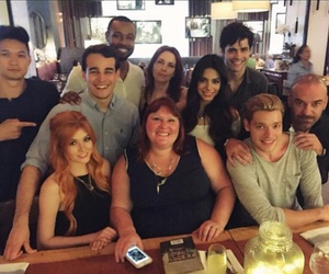 shadowhunters, cassandra clare, and cast image