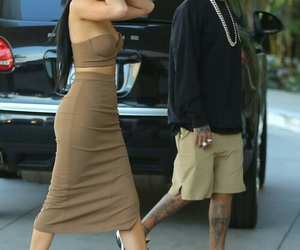 kylie jenner, tyga, and style image