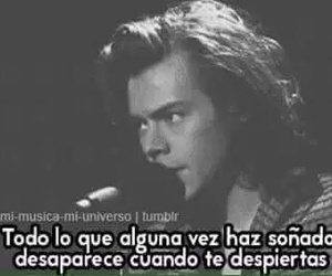 one direction, frases, and Harry Styles image