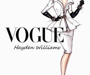 vogue, hayden williams, and white image