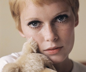 Mia Farrow and 60s image