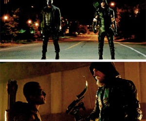 arrow, wentworth miller, and brandon routh image