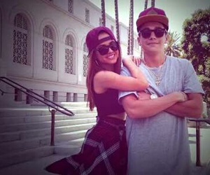 becstin, becky g, and austin mahone image