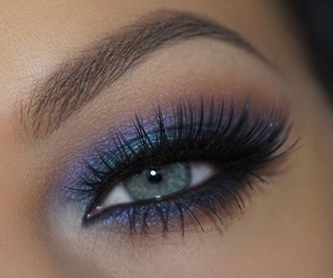 beauty, eye, and fashion image