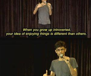 introvert and funny image