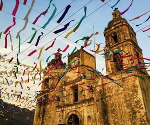 church, fiesta, and paisajes image