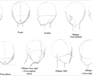 drawing, head, and draw image