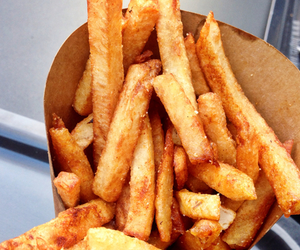 food, yum, and French Fries image