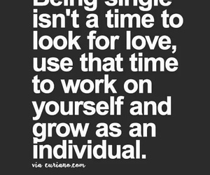 quote, single, and time image