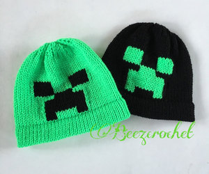 creeper, etsy, and knit beanie image