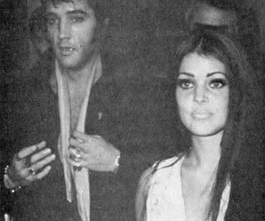 60s, couple, and Elvis Presley image