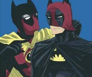 batman, deadpool, and Marvel image