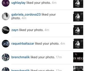 malik, zayn, and instagram image