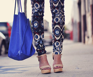 blue and fashion image