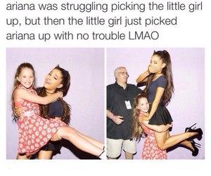 ariana grande, funny, and ariana image