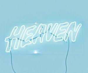 heaven, light, and neon image