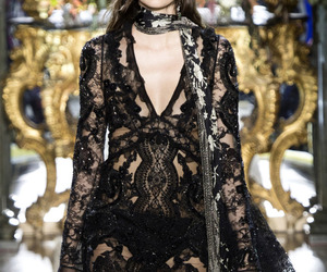 black, fw16, and lace image