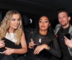 little mix, louis tomlinson, and one direction image