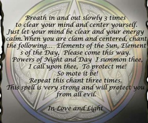 protection, wicca, and spells image
