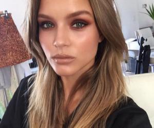 josephine skriver, model, and makeup image