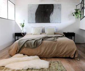 art, modern, and bedroom image