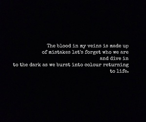 black and white, easel, and Lyrics image