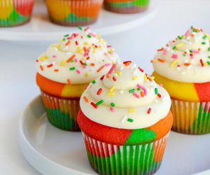 food and cupcakes image